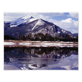 Lake at Rocky Mountains Colorado Photo