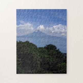 Lake Atitlan Volcanoes Jigsaw Puzzle