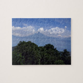 Lake Atitlan Volcanoes Puzzle