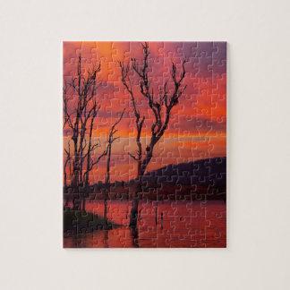 Lake Awoonga sunset jigsaw puzzle