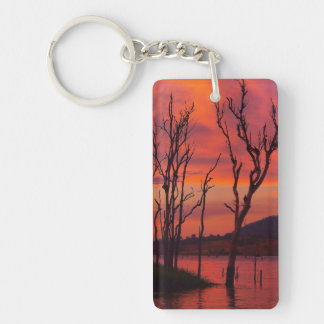 Lake Awoonga sunset keychain