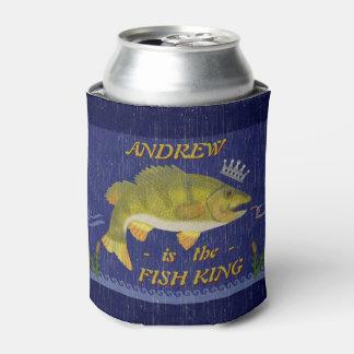 Lake Bass Fishing Fish King   Custom Anglers Name