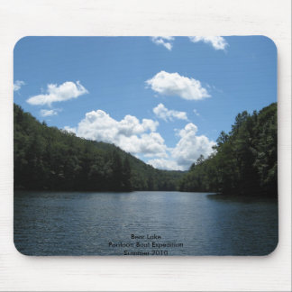lake, Bear LakePontoon Boat Expedition Summer 2010 Mouse Pad