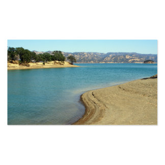 Lake Berryessa Business Card Template