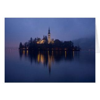 Lake Bled Card