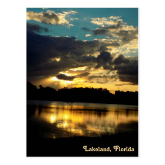 Lake Bonny Lakeland Florida 4 Postcard