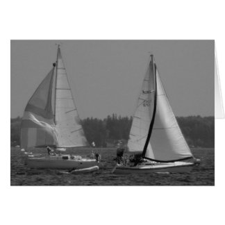 Lake Champlain Sailboats Card