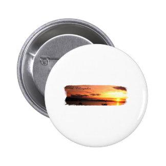 Lake Champlain Sunset Pin