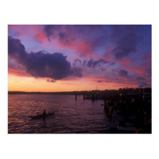 Lake Champlain Waterfront Postcard