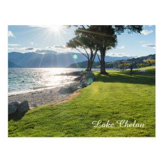 Lake Chelan Washington State Sunshine Travel Photo Postcard