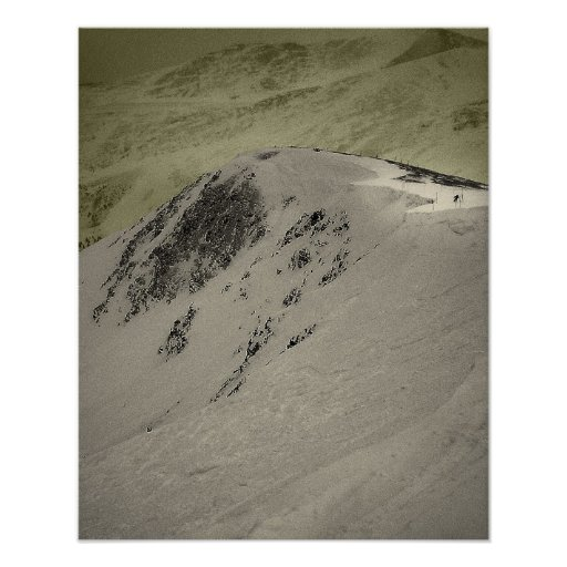 Lake Chute Bluster Print