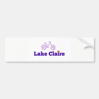 Lake Claire Bumper Sticker
