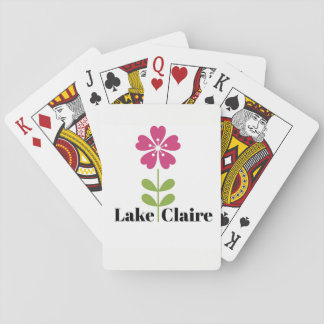 Lake Claire Playing Card