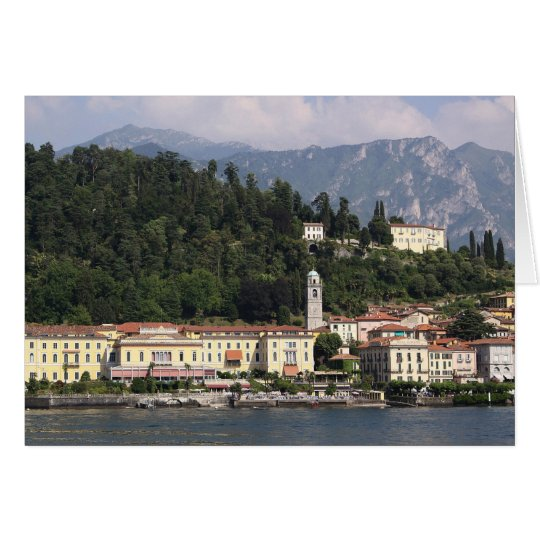 Lake Como - Bellagio 2 Card