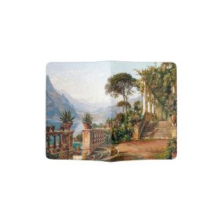Lake Como Italy Terrace Garden Passport Holder