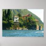 Lake Como - Ivy & Moss Print