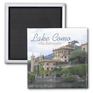 Lake Como Villa Balbianello Travel Photo Magnet