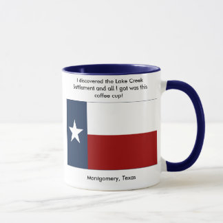 Lake Creek Settlement - Montgomery , Texas Mug