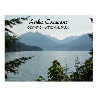Lake Crescent Travel Postcard