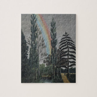 Lake Daumesnil by Henri Rousseau, Vintage Fine Art Jigsaw Puzzle