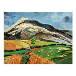 Lake District Hills Postcard