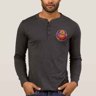 Lake Drain StarBursT™ Portal on Back Long SleeverT T-Shirt