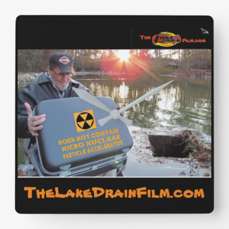 """Lake Drain♨️ """"What's in your Suitcase? w/Jim Bob Wall Clock"""