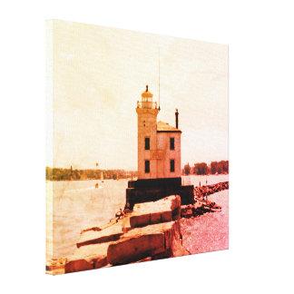 Lake Erie Lighthouse Canvas Print