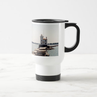 Lake Erie Lighthouse Travel Mug