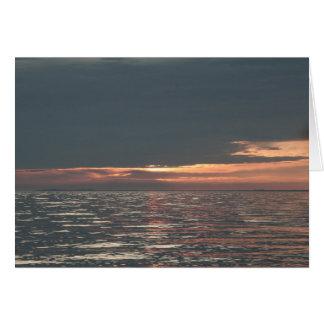 Lake Erie Sunset Greeting Card