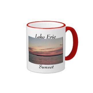 Lake Erie Sunset coffee mug
