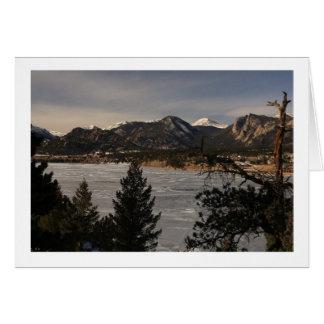 Lake Estes, CO Card