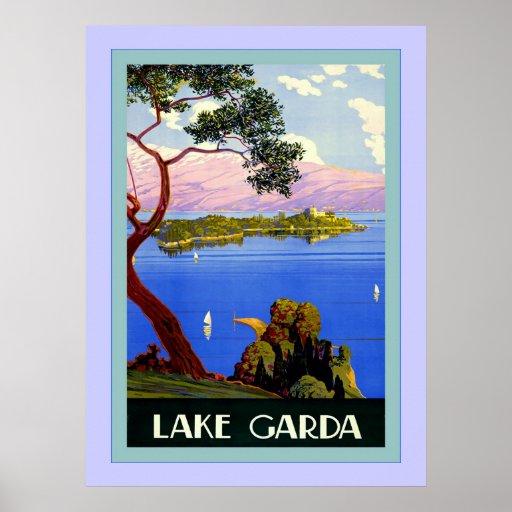 Lake Garda ~ Vintage Italian Travel Posters