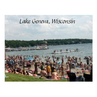 Lake Geneva, Wisconsin Postcard