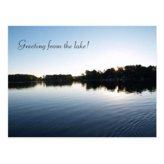 Lake Greeting Cards Postcard