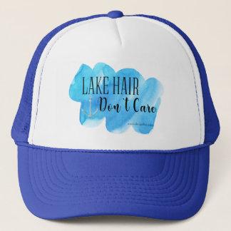 Lake Hair Don't Care Trucker Hat