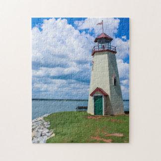 Lake Hefner Lighthouse, Oklahoma City Puzzle