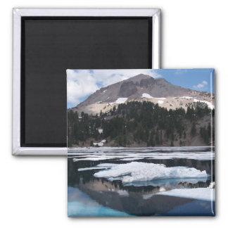 Lake Helen Square Magnet