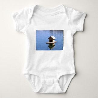 Lake house baby bodysuit