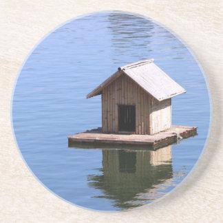 Lake house coaster