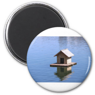 Lake house magnet