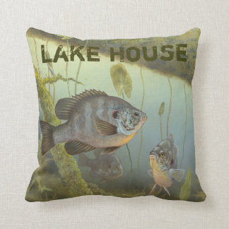 Lake House Rock Bass Perch Fishing Cushion