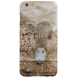 Lake House woodgrain pond wild duck Barely There iPhone 6 Plus Case