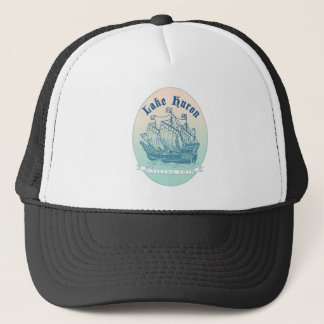 Lake Huron Sailing Ship Trucker Hat