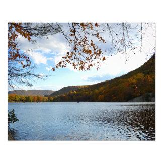 "Lake in Bear Mountain New York 20""x16"" photo"