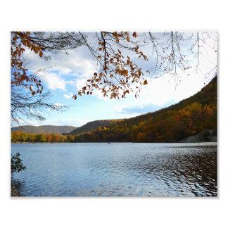 Lake in Bear Mountain New York 8 x10 photo