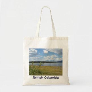 Lake in British Columbia tote bag