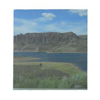 lake in colorado notepad