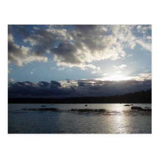 Lake in Finland Postcard