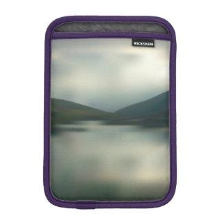 Lake in the mountains iPad mini sleeve